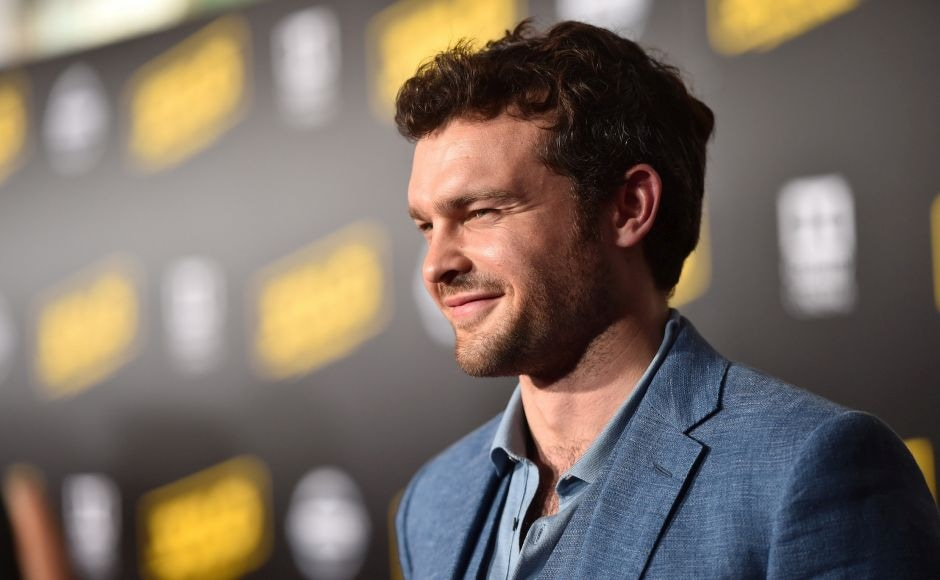 Alden Ehrenreich attends the world premiere of Solo: A Star Wars Story in Hollywood. Photo by Alberto E. Rodriguez/Getty Images for Disney
