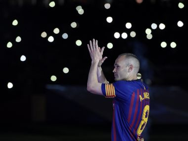 Andres Iniesta departs Barcelona with contentment, leaving behind imprints of his greatness at Camp Nou