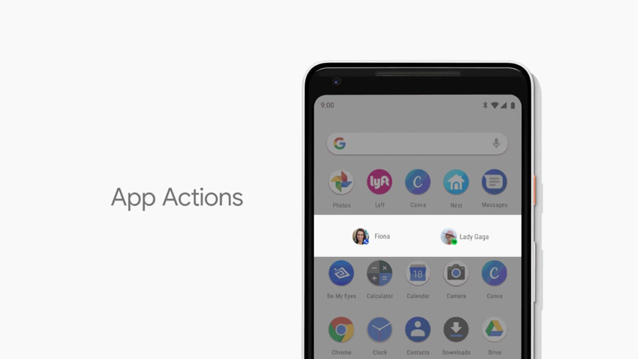 Android P will make it easier to access apps when needed