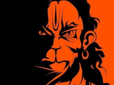 File image of Karan Acharya's 'Angry Hanuman' poster. News18