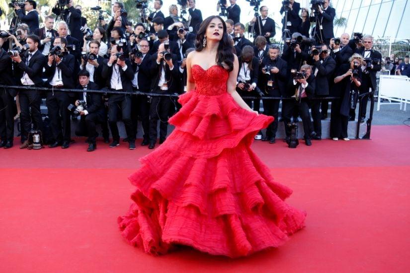 "70th Cannes Film Festival - Screening of the film the film ""120 battements par minute"" (120 Beats Per Minute) in competition - Red Carpet Arrivals - Cannes, France. 20/05/2017. Actress Aishwarya Rai poses. REUTERS/Regis Duvignau - RC1191A22030"