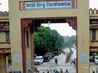 Banaras Hindu University campus. PTI
