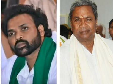 File images of B Sreeramulu and Siddaramiah. YouTube/Twitter@Siddaramaiah