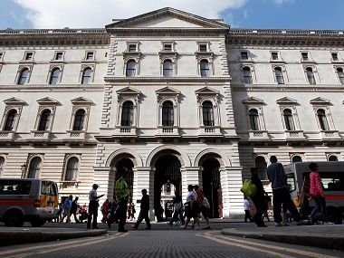The Foreign and Commonwealth Office in London. Reuters