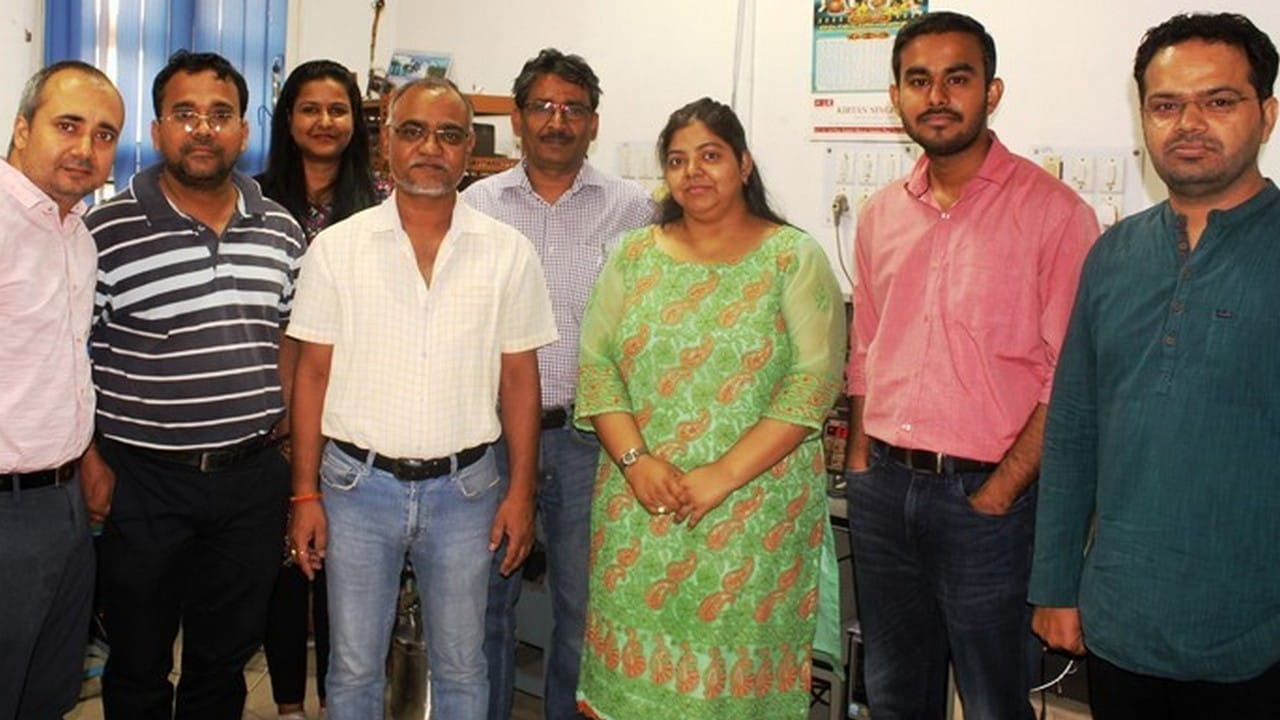 Team of researchers at CSIR-NPL. Image: Dinesh C Sharma