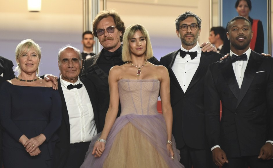 This Saudi director just took part in a historic protest at Cannes