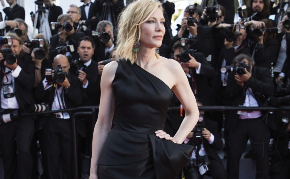 Cate Blanchett led a Cannes red carpet women's march