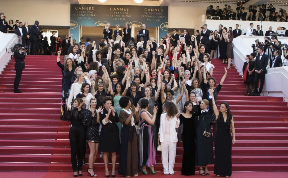 Women take over the red carpet at Cannes