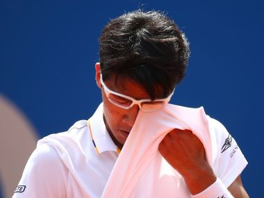 French Open 2018: Rising star Hyeon Chung forced to pull out of Roland Garros with ankle injury