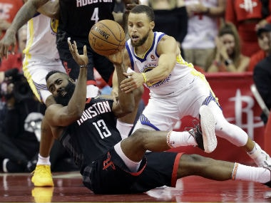 Stephen Curry, Kevin Durant help Warriors reach fourth consecutive NBA Finals with victory over Rockets in Game 7