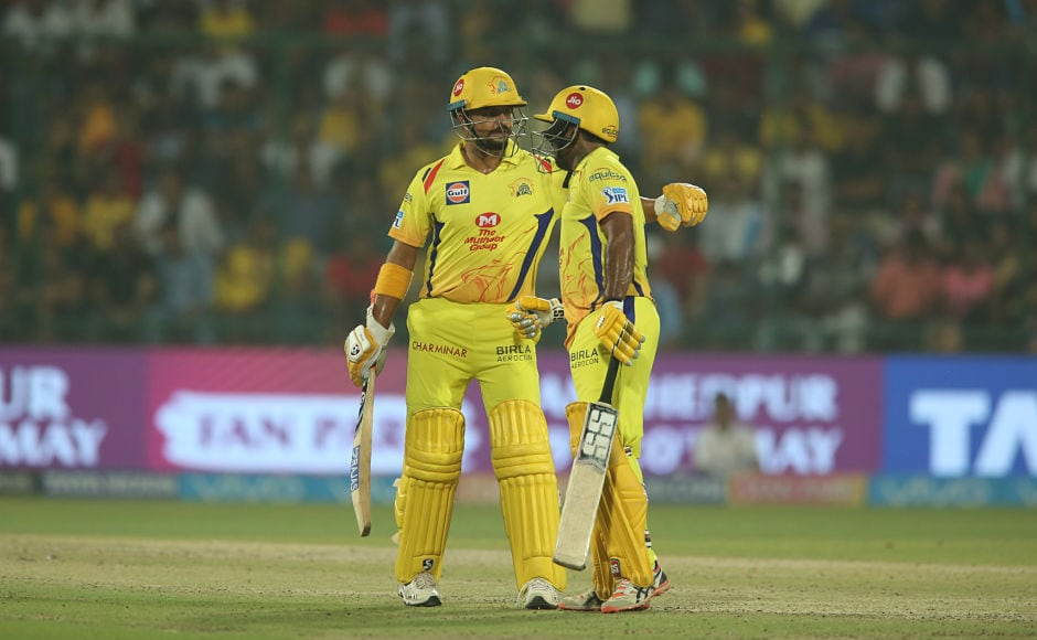 After a decent opening 46-run stand, Ambati Rayudu and Suresh Raina tried to consolidate on the set platform. Sportzpics