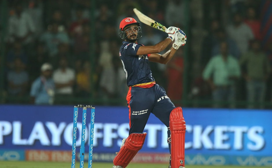 A 65-run stand between Harshal Patel and Vijay Shankar powered Delhi Daredevils to 162. Sportzpics