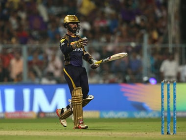 Dinesh Karthik scored a 38-ball 52 to guide the team to a fighting total of 169. Sportzpics