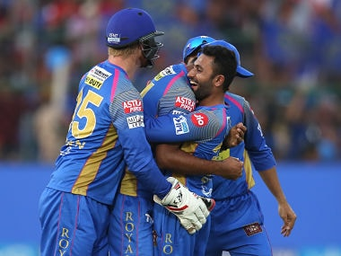 IPL 2018: Shreyas Gopal's four-wicket haul helps Rajasthan Royals knock out Royal Challengers Bangalore