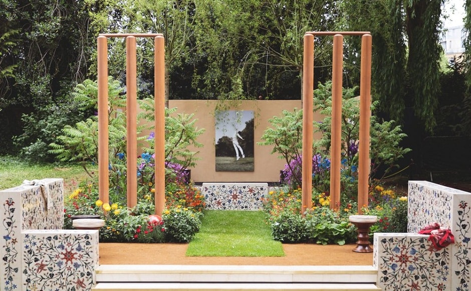 India-inspired garden at Royal Horticultural Society's Chelsea Flower Show celebrates love for cricket