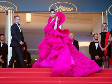 Deepika Padukone wows in hot pink Ashi Studio couture gown on final day at Cannes Film Festival 2018