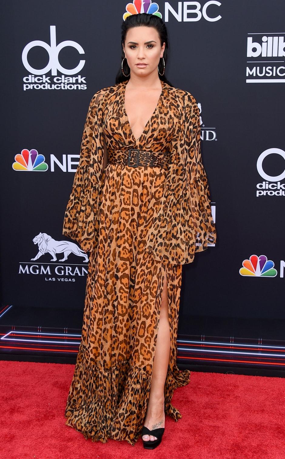 Demi Lovato at the Billboard Music Awards/Photo by Jordan Strauss/Invision/AP