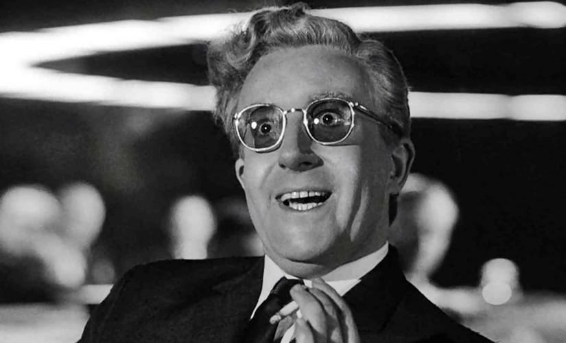 Peter Sellers as Dr Strangelove/Image from Twitter.