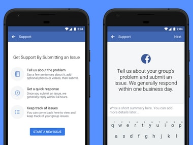 Facebook Support for admins.