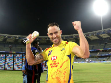 Chennai Super Kings captain MS Dhoni's incredible gut feeling is his biggest strength, says Faf Du Plessis