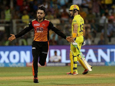 Rashid Khan will be a big threat to MS Dhoni in IPL 2018 final. Sportzpics