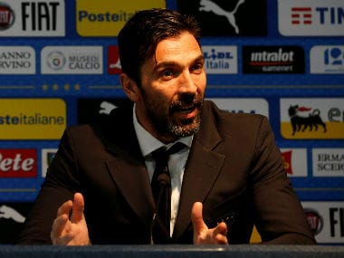 File image of Juventus goalkeeper Gianluigi Buffon. Reuters