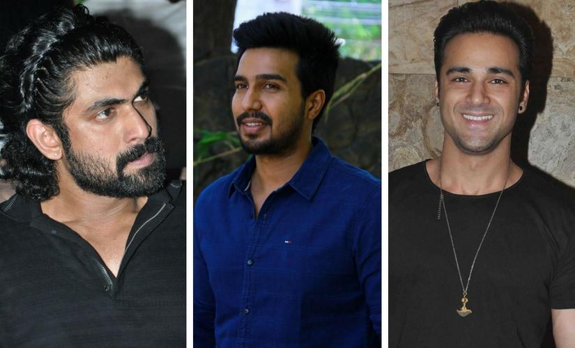 Rana Daggubati, Vishnu Vishal, and Pulkit Samrat/Image from Twitter.