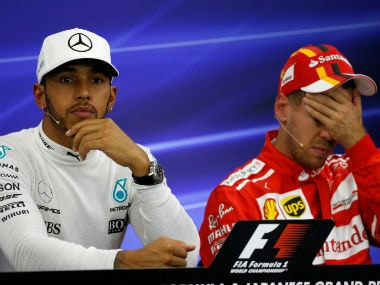 United States Grand Prix: Sebastian Vettel slapped with grid penalty in practice as Lewis Hamilton edges closer to fifth title