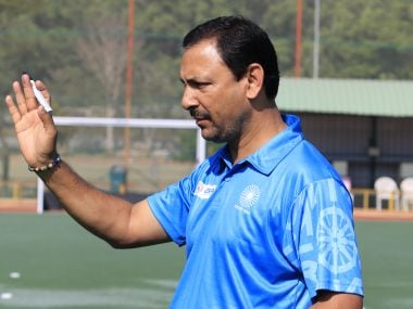 File image of Harendra Singh. Image Courtesy: Hockey India