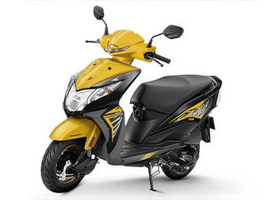 Honda Dio Delux goes official with LED headlamp and digital instrument cluster at Rs 53,292