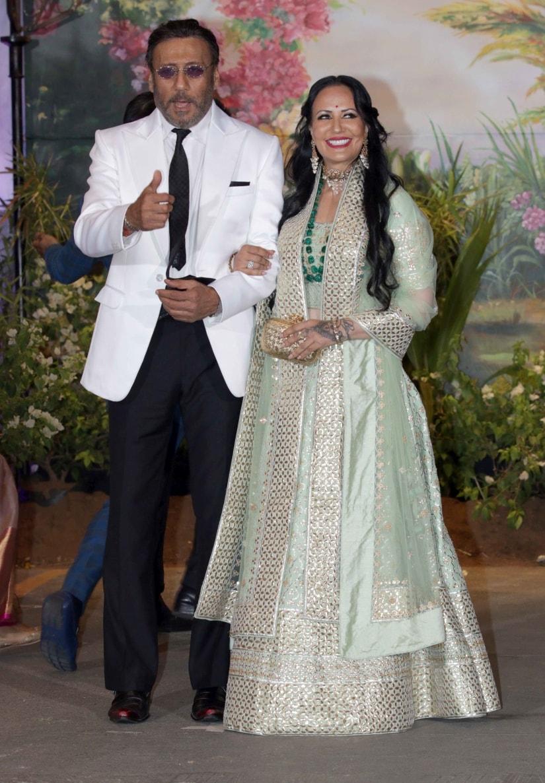 Jackie Shroff and Ayesha Shroff. Firstpost/Sachin Gokhale
