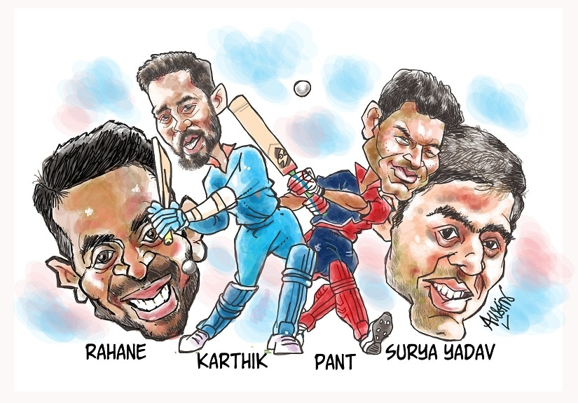 If selectors, former cricketers and critics are to be believed, then IPL is the storehouse of India's best talent, if not the world's. Illustration courtesy Austin Coutinho