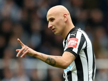 File image of Jonjo Shelvey. Reuters