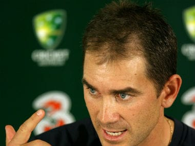 File image of Justin Langer. AFP