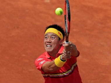 File image of Kei Nishikori. Reuters