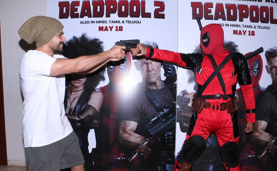 Bollywood celebrities attended the special screening of Deadpool 2