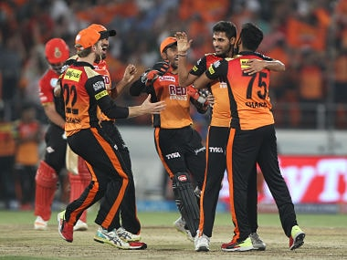 IPL 2018: Sunrisers Hyderabad inch closer to playoff spot with narrow win over Royal Challengers Bangalore