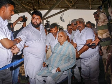 Lalu Prasad Yadav admitted to Patna hospital after complaining of chest pain, breathing problem