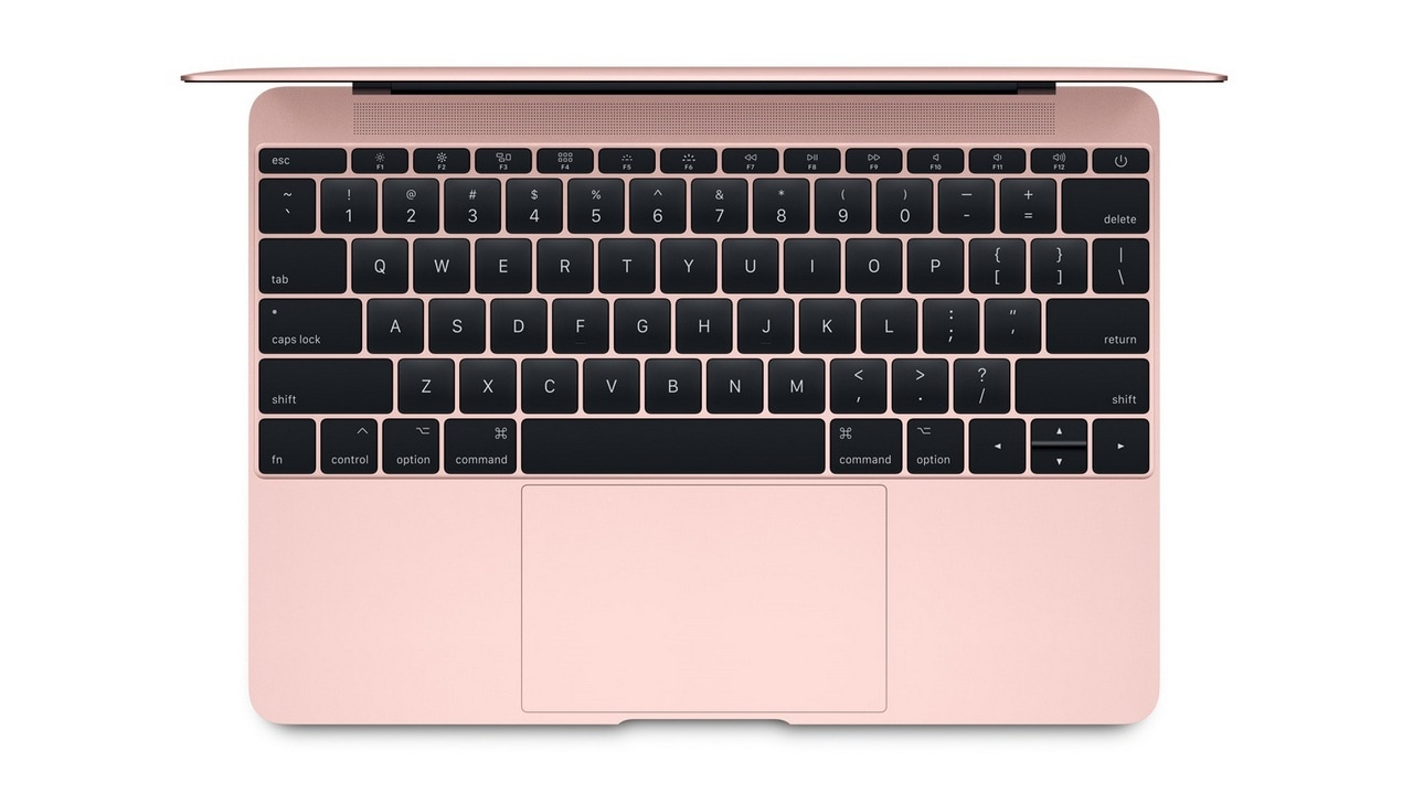 The second-generation butterfly switches on the Apple MacBook. Image Apple