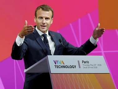 Macron urges Europe to set global standards for digital technology regulation at VivaTech conference in Paris