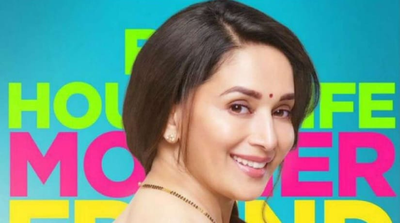 Madhuri Dixit in Bucket List first look. Image via Twitter