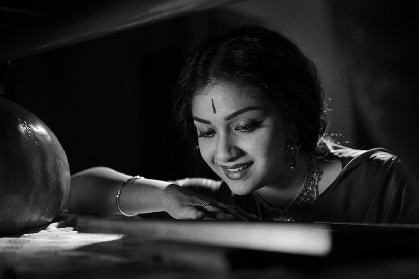 Keerthy Suresh in a still from Mahanati. Image via Twitter