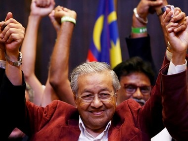 File image of Mahathir Mohamad. Reuters