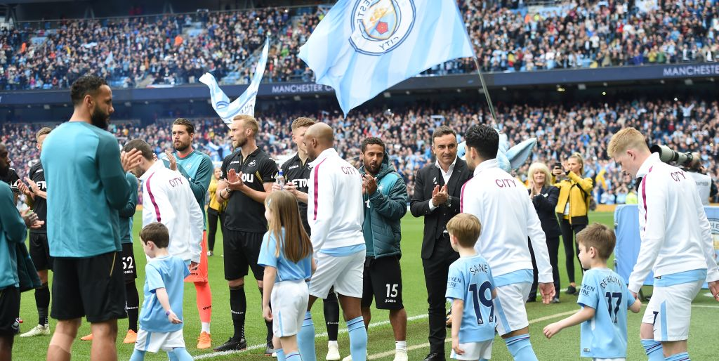 Premier League Champions Manchester City To Be Handed Trophy After Huddersfield Clash As More Records Beckon