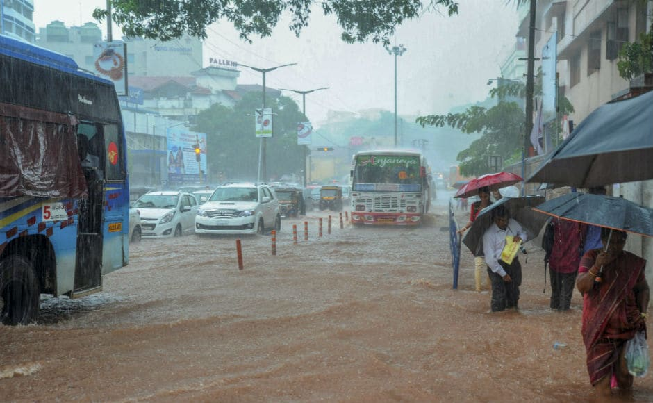 Chief Minister HD Kumaraswamy took stock from Deputy Commissioner of the situation in Dakshina Kannada due to heavy downpour. PTI