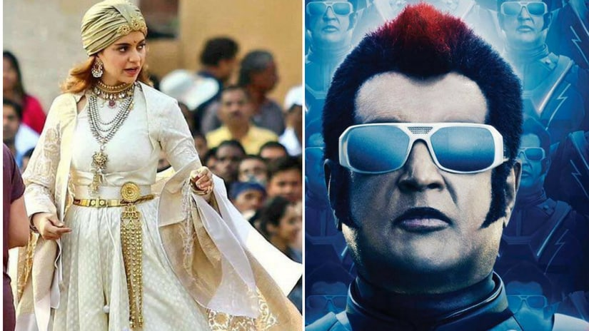 Kangana Ranauts Manikarnika to reveal release date only after Rajinikanth-starrer 2.0 finalises theirs