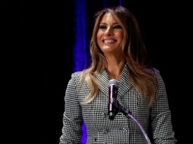 File image of First Lady Melania Trump. Reuters
