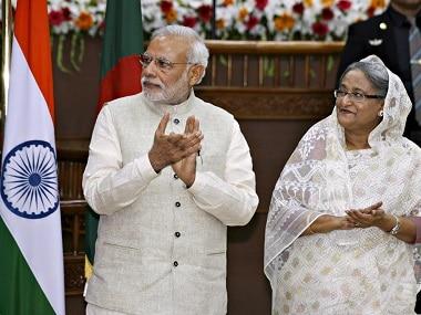 Image result for नरेंद्र मोदी ने विश्वभारती विश्वविद्यालय के 49वें दीक्षांत समारोह में बांग्लादेश की प्रधानमंत्री शेख हसीना imag