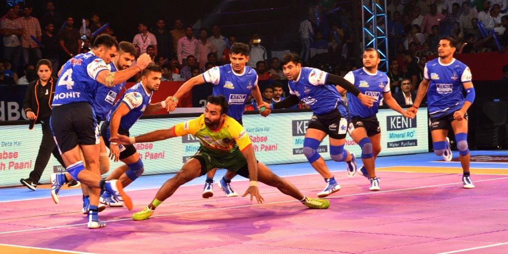 Pro Kabaddi League Meet Monu Goyat Kabaddi S Silent