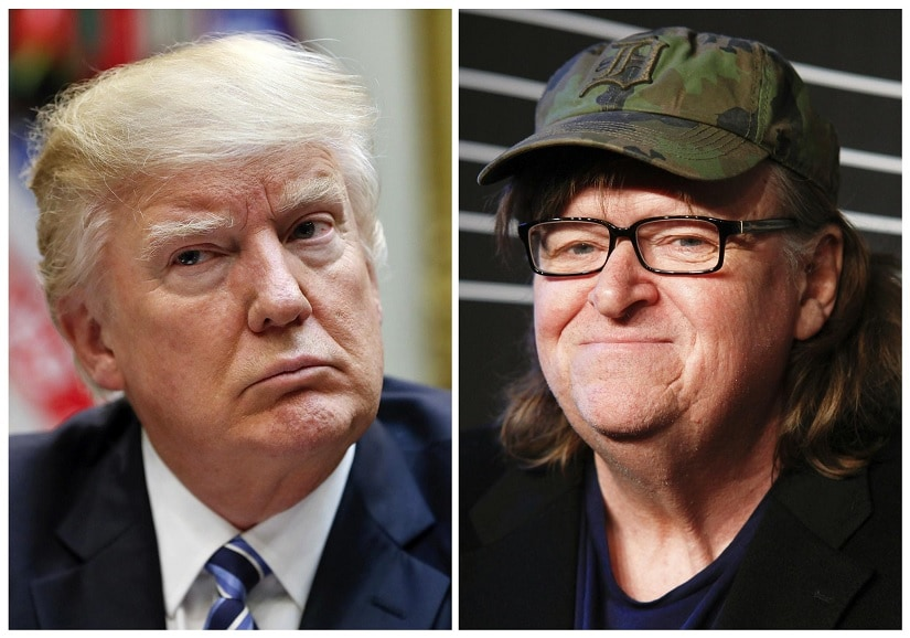 Michael Moore teases secret project aimed at Donald Trump, Roseanne Burr: They will rue the day they knew me